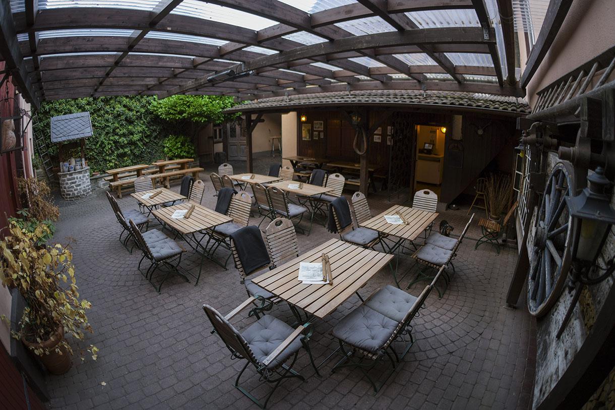 Alte Dorfschmiede Eschborn – Innenhof