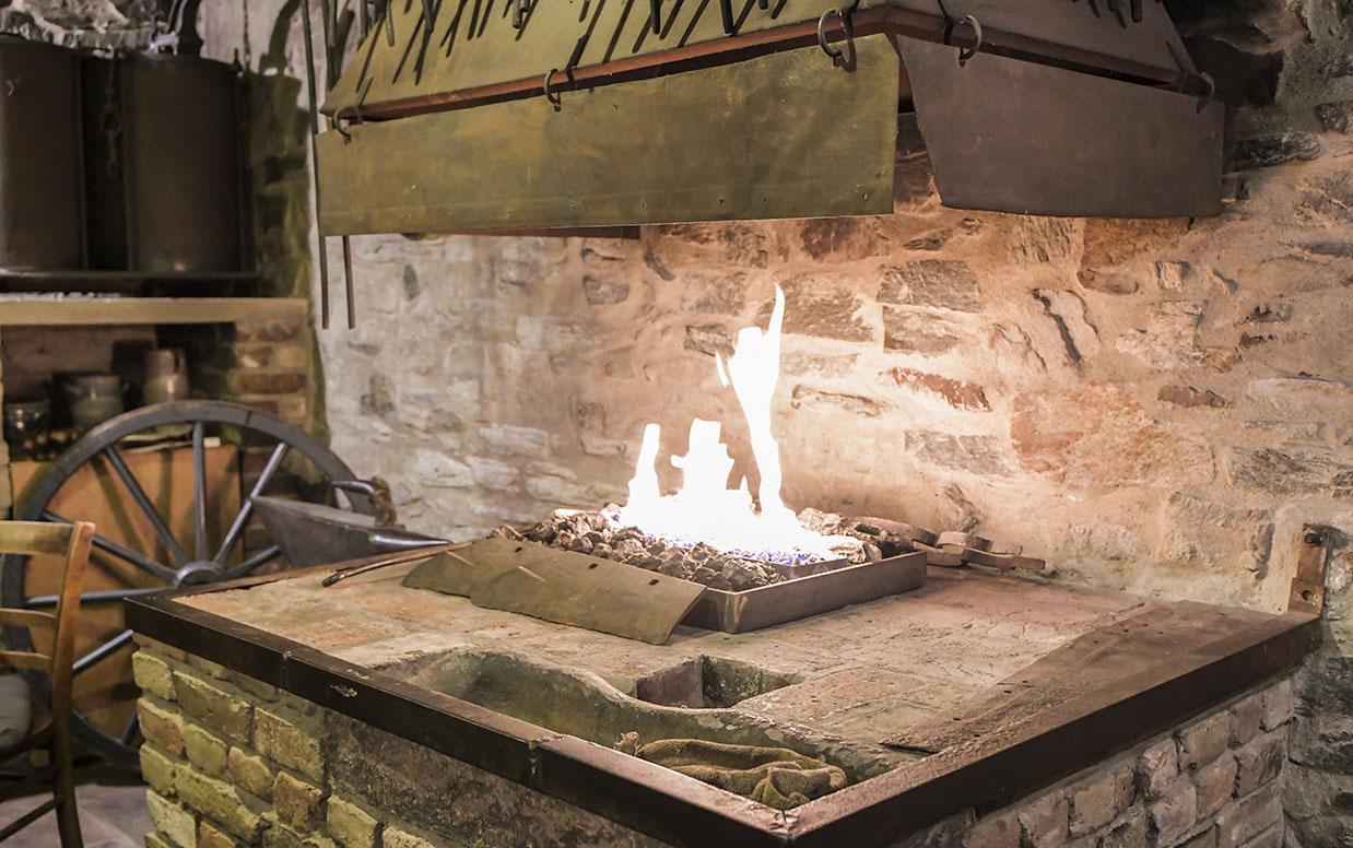 Alte Dorfschmiede Eschborn – Schmiedefeuer